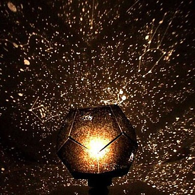 DIY Romantic Galaxy Starry Sky Projector Night Light