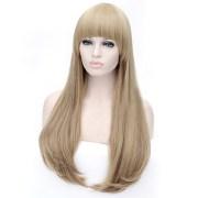 cartoon color wig linen
