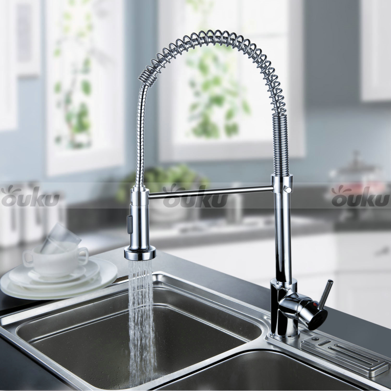 contemporary kitchen faucet antique copper us modern chrome brass pull out spring faucets