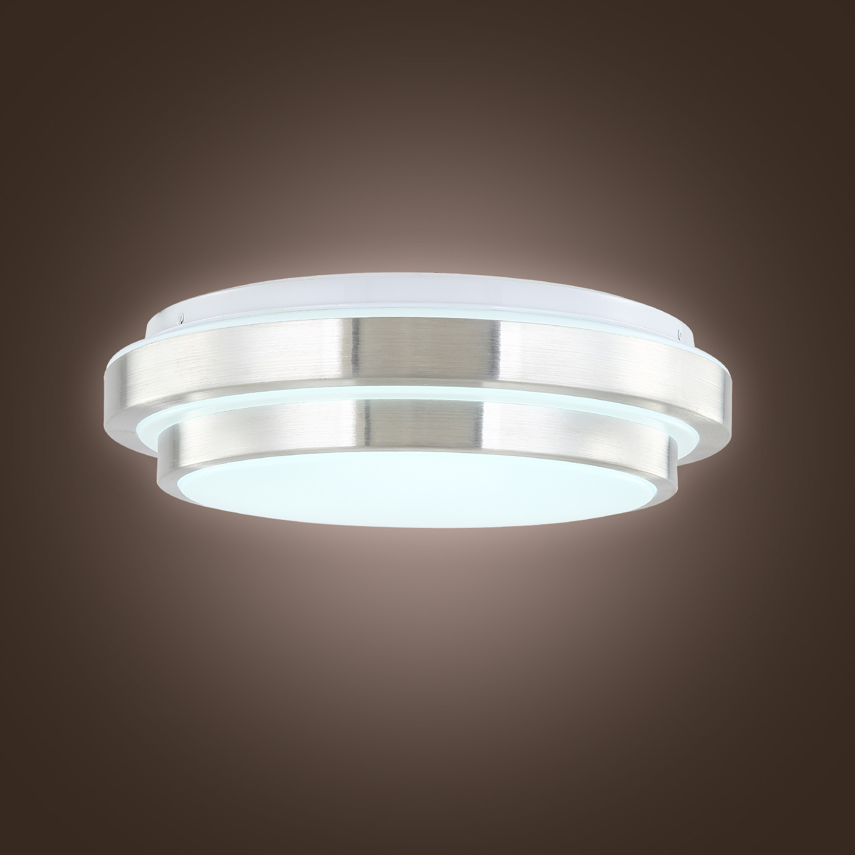 Modern LED Flush Mount 15w 1500lm Aluminum Acrylic Ceiling Light 11 Round  eBay