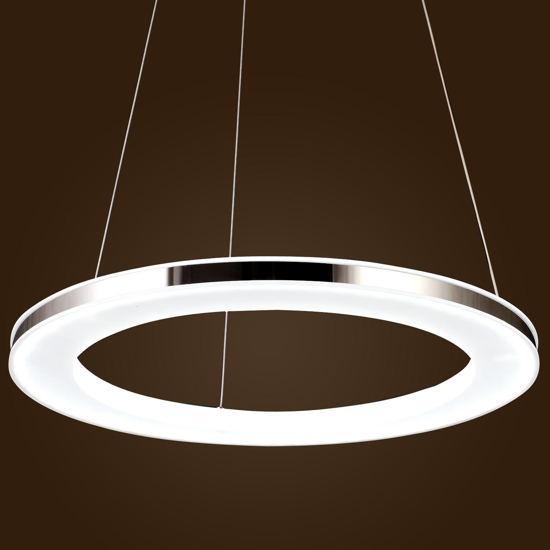 Modern Ring Acrylic LED DIY Ceiling Pendant Lamp Fixture