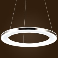 Modern Ring Acrylic LED DIY Ceiling Pendant Lamp Fixture ...