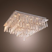 Flush Mount Chandelier Lighting