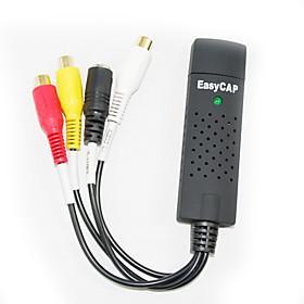 v�deo easycap  adaptador de audio