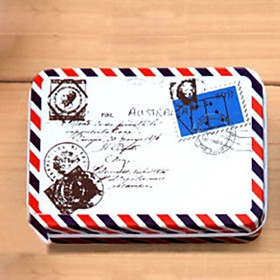 $Ορθογώνιο Φάκελος Pattern Tin Box