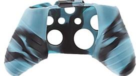$Σιλικόνης δέρματος για XBOX ONE (Μπλε Μαύρο)