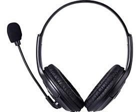 $Επαγγελματική Wired Gaming Headset w / μικρόφωνο για PS4 - Μαύρο (3.5mm Plug / 120cm-Cable)