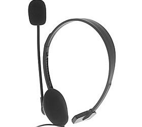 $Ακουστικά με Mic για το PS4 (Μαύρο)
