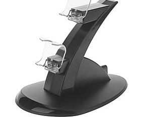 $Ελεγκτής φόρτισης Βάση για PS4 (Μαύρο)