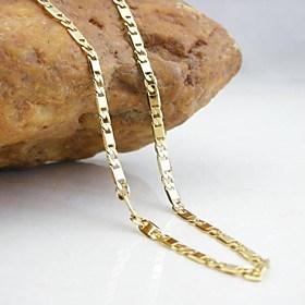 $Κολιέ Κολιέ με Αλυσίδα Κοσμήματα Γάμου / Πάρτι / Καθημερινά / Causal Μοντέρνα Χαλκός Χρυσαφί 1pc Δώρο