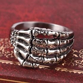 $Ευρώπη δαχτυλίδι νύχια της προσωπικότητας του τιτανίου χάλυβα ανδρών