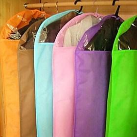 $χρώμα καραμέλας σκόνη-απόδειξη διαφανή ρούχα τσάντες αποθήκευσης (τυχαία χρώμα) (85 60 εκατοστά)