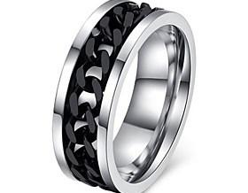 $1pc Εντυπωσιακά Δαχτυλίδια - Κρίκοι - για Γάμου/Πάρτι/Καθημερινά/Causal/Αθλητικά/N/A - από Τιτάνιο Ατσάλι