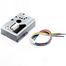 $απότομη gp2y1010au0f DIY gp2y1010f αισθητήρα PM2.5 σκόνης για audino / Raspberry Pi