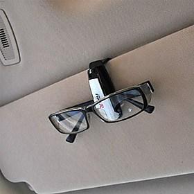 $καθολική γυαλιά σκιάδιο του αυτοκινήτου Auto Κυρ γυαλιά ηλίου κλιπ κάτοχος εισιτηρίου της κάρτας (τυχαία χρώμα)