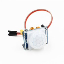 $πυροηλεκτρικό ενότητα υπέρυθρο ανιχνευτή κίνησης PIR αισθητήρα w / καλώδιο 3-pin για Arduino - μπλε άσπρο