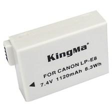 $Kingma LP-E8 lp E8 lpe8 μπαταρία της κάμερας για Canon EOS 550d 600d 650d 700D φιλί x4 x5 x6i x7i ανταρτών T2i T3i t4i t5i