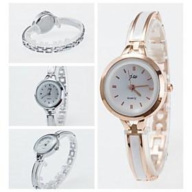 $2016 νέα άφιξη κομψά ρολόγια χαλαζία μόδας κυρίες ρολόι βραχιόλι στυλ ρολόι των γυναικών