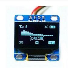 $0.96 ιντσών μπλε i2c IIC σειριακό 128x64 OLED οθόνη LCD, LED μονάδα οθόνη για Arduino 51 msp420 stim32 scr