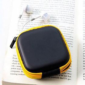 $ταξιδιωτικό υλικό δέρμα ακουστικά αλλάξει πορτοφόλια (τυχαία χρώμα)