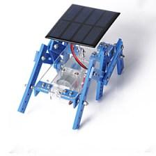 $καβούρι βασίλειο των ηλιακών συλλεκτών μοντέλο Hexapod ρομπότ συναρμολογηθούν DIY πακέτο υλικό χειροποίητα