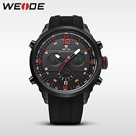$WEIDE Αντρικά Αθλητικό Ρολόι Στρατιωτικό Ρολόι Ρολόι Φορέματος Μοδάτο Ρολόι Ρολόι Καρπού Ψηφιακό ρολόι Ιαπωνικά Χαλαζίας Ψηφιακό