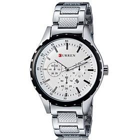 $Ανδρικά Αθλητικό Ρολόι Ρολόι Φορέματος Έξυπνο ρολόι Μοδάτο Ρολόι Ρολόι Καρπού Μοναδικό Creative ρολόι Κινέζικα Χαλαζίας Ημερολόγιο