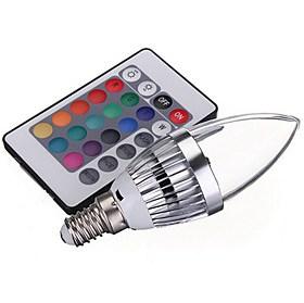 $3W LED Έξυπνες Λάμπες 1 Ενσωματωμένο LED 150 lm RGB V 1 τμχ
