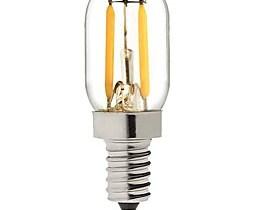 $2W LED Λάμπες Πυράκτωσης T 2 COB 200 lm Θερμό Λευκό Διακοσμητικό V 1 άτομο