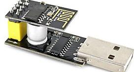 $Usb σε esp-01 μαύρο εσπ-01 esp-01 esp8266 wi-fi ασύρματη μονάδα