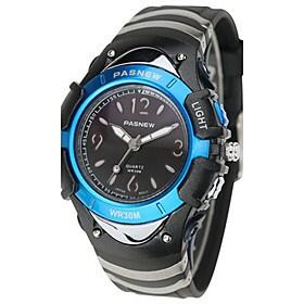 $Ανδρικά Αθλητικό Ρολόι Μοδάτο Ρολόι Ψηφιακό Ανθεκτικό στο Νερό καουτσούκ Μπάντα Μαύρο Μπλε Ροζ