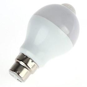 $5W LED Έξυπνες Λάμπες A60(A19) 10 SMD 5630 450 lm Θερμό Λευκό Ψυχρό ΛευκόΥπέρυθρος Αισθητήρας Ανιχνευτής ανθρώπινου σώματος Έλεγχος