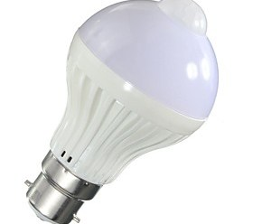 $5W LED Έξυπνες Λάμπες A60(A19) 10 SMD 5730 450 lm Θερμό Λευκό Ψυχρό ΛευκόΥπέρυθρος Αισθητήρας Ανιχνευτής ανθρώπινου σώματος Έλεγχος
