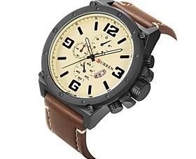 $Ανδρικά Αθλητικό Ρολόι Ρολόι Φορέματος Μοδάτο Ρολόι Ρολόι Καρπού Μοναδικό Creative ρολόι Κινέζικα Χαλαζίας Ημερολόγιο Ανθεκτικό στο Νερό