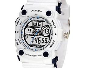 $Ανδρικά Αθλητικό Ρολόι Μοδάτο Ρολόι Ψηφιακό Ανθεκτικό στο Νερό καουτσούκ Μπάντα Μαύρο