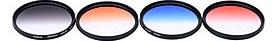 $Και επαγγελματικό φίλτρο 67 mm gnd βαθμονομημένο φίλτρο gnd4 (0,6) γκρι μπλε πορτοκαλί κόκκινο βαθμονομημένο φίλτρο ουδέτερης πυκνότητας