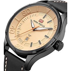 $Ανδρικά Αθλητικό Ρολόι Στρατιωτικό Ρολόι Μοδάτο Ρολόι Ρολόι Καρπού Μοναδικό Creative ρολόι Καθημερινό Ρολόι Χαλαζίας Ημερολόγιο Γνήσιο