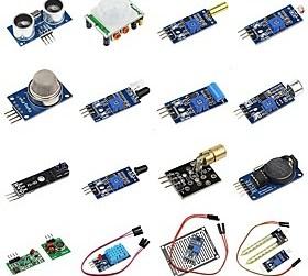 $DIY 16 σε 1 κιτ εξαρτημάτων αισθητήρα για βατόμουρο pi