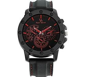 $Ανδρικά Αθλητικό Ρολόι Ρολόι Καρπού Καθημερινό Ρολόι Κινέζικα Χαλαζίας / σιλικόνη καουτσούκ Μπάντα Καθημερινά Μαύρο