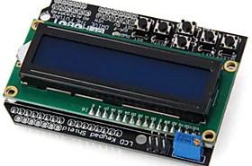 $lcd1602 χαρακτήρας lcd πληκτρολόγιο ασπίδα v1.0 για arduino DIY έργα