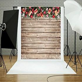 $φωτογραφία σκηνικά 5x7ft βινύλιο όμορφη χριστουγεννιάτικη σχεδίαση φόντο φωτογραφίας
