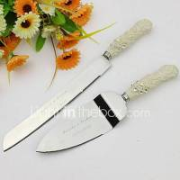 Serving Sets Wedding Cake Knife Personalized Elegant Cake ...