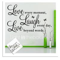 Words & Quotes Wall Stickers Plane Wall Stickers ...