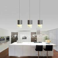 3 Lights Pendant Lights LED / Bulb Included Modern ...