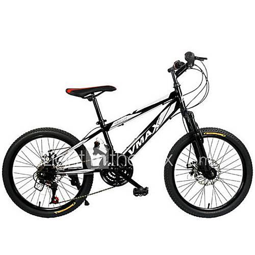 Mountain Bike Cycling 21 Speed 20 Inch Unisex Double Disc