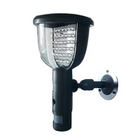 Solar Panel LED Wall Light Black 323950 2017  $224.99