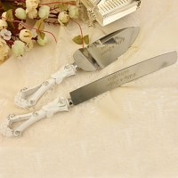 Serving Sets Wedding Cake Knife Personalized Rhinestones