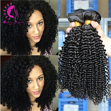 10 26 virgin indian curly hair cheap 6a indian virgin hair 3 bundles 100g kinky curly hair