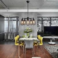 MAISHANG Chandeliers Mini Style Rustic/Lodge/Retro Living ...