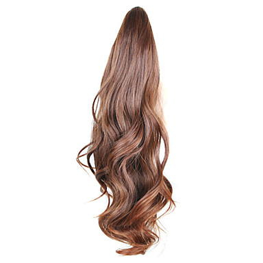 Claw Clip Synthetic Curly Ponytail  4 Colors Available